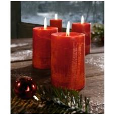"""Aromatinės žvakės """"Cinamonas - obuolys"""", 4 vnt."""