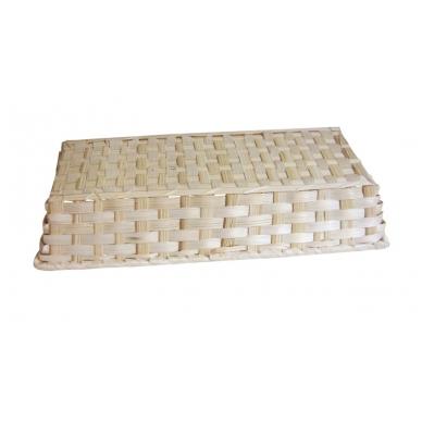 Bambukinis stačiakampis krepšelis