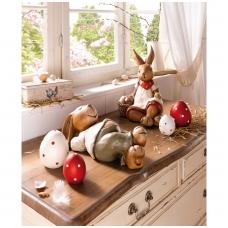 Dekoratyviniai kiaušiniai, 4 vnt.