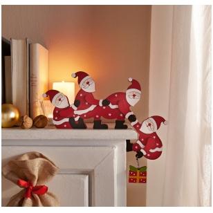 """Dekoracija """"Kalėdų seneliai"""""""
