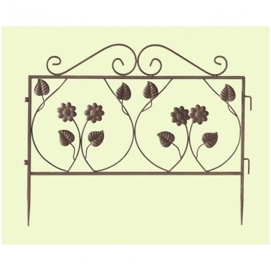 """Dekoratyvinė tvorelė """"Gėlės"""", 1 vnt."""