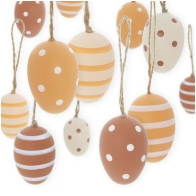 Dekoratyviniai kiaušiniai, 24 vnt