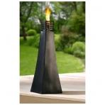 Didelė metalinė aliejinė lempa