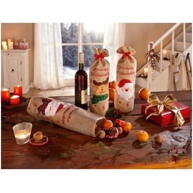 """Dovanų maišeliai """"Linksmų kalėdų"""""""