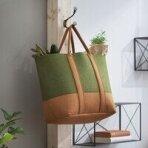 Krepšys veltynio 'Žalias'