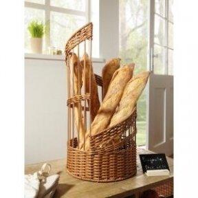 """Krepšelis duonai """"Poly"""", sukimosi į viršų formos"""