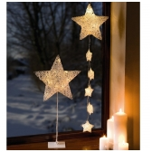 """LED pakabinama dekoracija  """"Žvaigždė"""""""