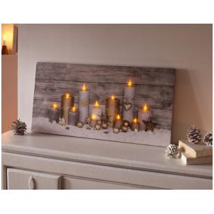 """LED dekoracija """"Žvakių šviesa"""""""