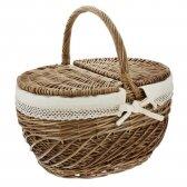 Meilės šalies pikniko krepšys