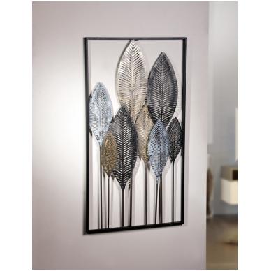 """Metalo dekoracija """"Lapeliai"""""""