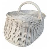 Pikniko  baltas krepšys