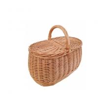 Pikniko krepšys rudas