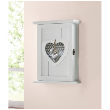 """Raktų dėžutė """"Sidabrinė širdis"""""""