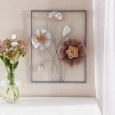 Sienų apdaila metalinė gėlė