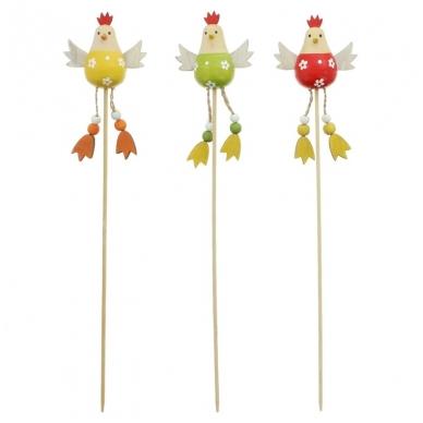 """Velykinė puošmena """"Trys viščiukai'"""", rinkinys 3 vnt."""