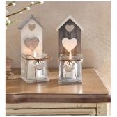 """Žvakidės """"Širdelės'', 2 vnt."""